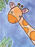 Draw and Paint a Giraffe for Kids