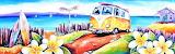 #Kombi Surf Frangipani by Deb Broughton