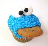 ^ Cookie Monster Cupcake