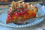 ^ Heirloom Tomato Pie