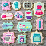 Baker cookies @Banana Bakery