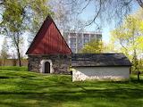 Chapelle médiévale,Akaa, Finlande