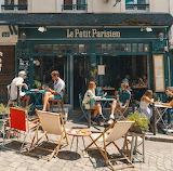 Cafe Petit Parisien Paris France