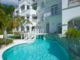 Caribbean luxury villas and pool