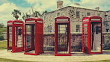 English Phone Booths