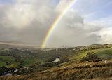 Rainbow over Whistle Crag