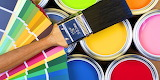 Cans of Paint Rainbow