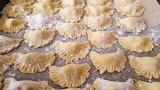 Pasta tortellini noodles banquet