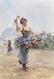 Louis Marie de Shryver 1901 painting