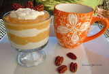 ^ Pumpkin-Pecan Cheesecake Yogurt Parfaits