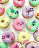 Pastel Doughnuts