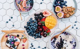 Fruits and desserts