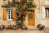 ^ Rose Covered Door French Cottage