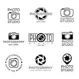 Photography themes illustrations