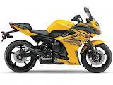 Yamaha fz6r yellow 5724