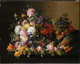"Flowers Art Metmuseum.org ""Still Life-Flowers and Fruit"" ""Severi"