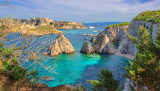 Beach of the Pagliai-Tremiti islands-Italy