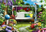 Flowers-artwork-architecture-scenery-butterflies-wildlife-swing-