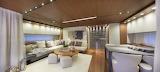 modern luxury yacht interior