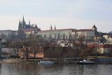 Prague, Vue de face du château, ©mathildekhlat, cz