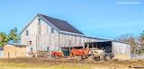 Farm with livestock