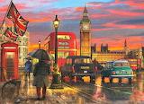 Rainy Day in London~ Dominic Davison