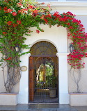 Various small 144 door with flowers