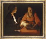 Georges de la Tour - Le nouveau-né