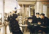James Tissot, La Fille du capitaine, 1873