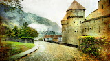 Chillon Castle, Switzerland