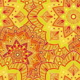 #Seamless Mandala Pattern