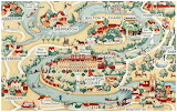 UK - Thames Valley Map, Detailed