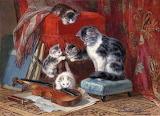 vintage-cat-art