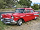 Chevrolet 1957 4 door