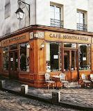 Cafe Montmartre Paris France