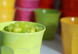 ^ Green apple jelly beans