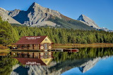 Boat House in Canada