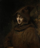 Titus as a monk rembrandt