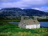 An Abandoned Croft Loch Stack Sutherland The Highlands Scotland