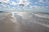 A Beach on the Polish Baltic Coast by Agata Rokita