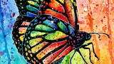 Butterfly in Watercolors