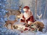 Santa & Forest Friends