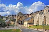 Langres town walls