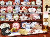 Grandma's China Shelf~ TracyHall
