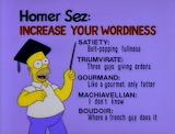 Homer Sez