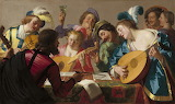 Gerard van honthorst - the concert - 1623
