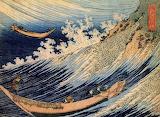 Choshi in the Simosa Province. Katsushiku Hokusai