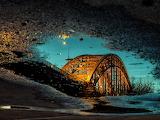 Bridge over the River Waal Netherlands