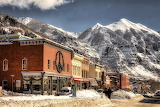 Telluride in winter, Colorado - USA