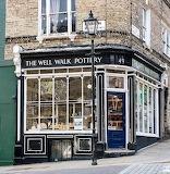 Well Walk Pottery London England UK Britain